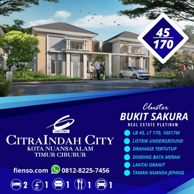 Sakura 4, 45/170, 10x17, CitraIndah City